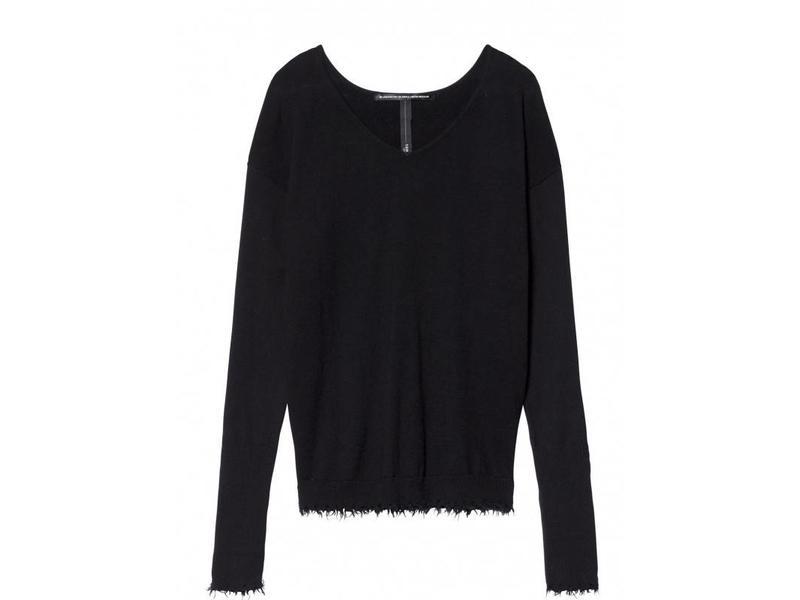 10Days v-neck sweater zwart 20-604-8103