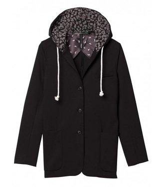 10Days Hoody blazer zwart 20-501-8103