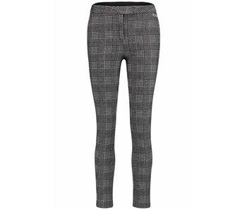 Penn & Ink Trousers check zwart W18F378