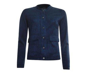 Poools Jacket plain donkerblauw 833240