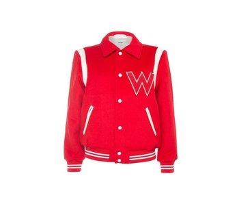 Wrangler Bomber jacket rood W4130VUWN