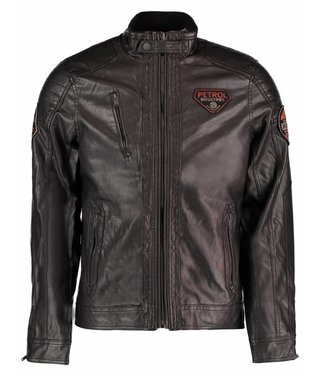 Petrol Industries Jacket pu zwart M-FW18-JAC102