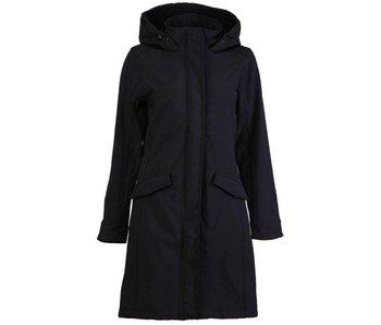 Moscow Coat zwart FW18-76.02