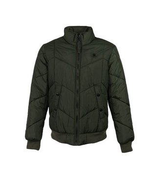 G-Star Whistler meefic quilted bomber donkergroen D09647-A569-995
