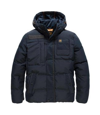 PME Legend Hooded jacket SNOWBURST 2.0 Dark Sapphire PJA186108