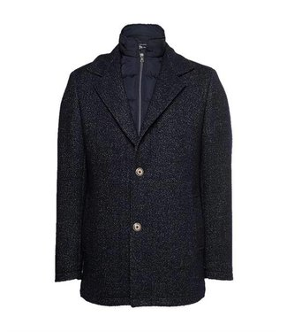 State of Art Jacket Plain donkerblauw 781-28299-5900