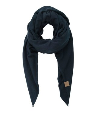 Zusss Stoere grote sjaal blauw 03SG18n
