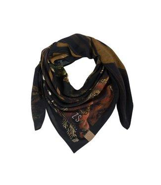Zusss Frivole sjaal multicolour 03FS18n