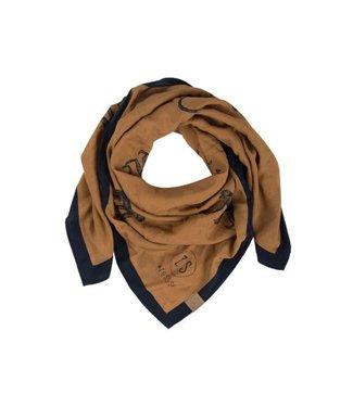 Zusss Frivole sjaal camel 03FS18n