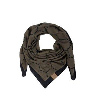 Zusss Frivole sjaal groen 03FS18n