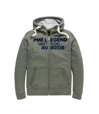 PME Legend Hooded jacket Brushed Falcon Peat PSW186422