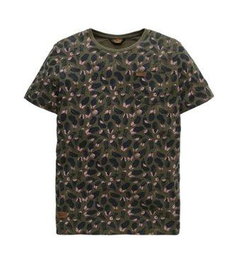 PME Legend Short sleeve r-neck Slub Jersey AOP Kalamata PTSS185524