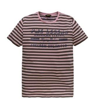 PME Legend Short sleeve r-neck Single Jersey S: primrose PTSS185523