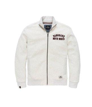Vanguard Zip jacket Melange Sweat White VSW185205