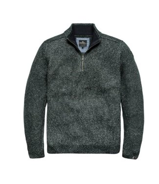 Vanguard Half zip collar Cotton blend Darkest Spruce VKW186134