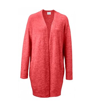 Yaya CARDIGAN LONG SLEEVE POMPEIAN RED MELANGE 101020-823