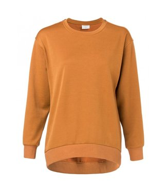 Yaya JERSEY SHINY SWEATER MYSTIC BRONZE 100945-824