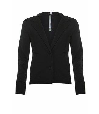 Poools Jacket contrast zwart 833109