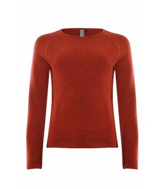 Poools Pullover plain rood 833164