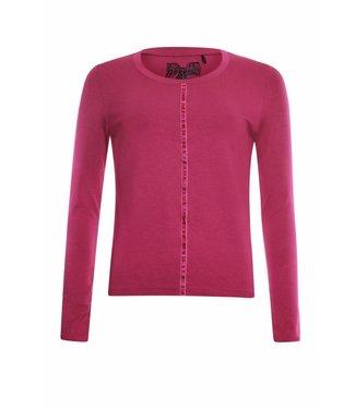 Poools T-shirt plain roze 833179
