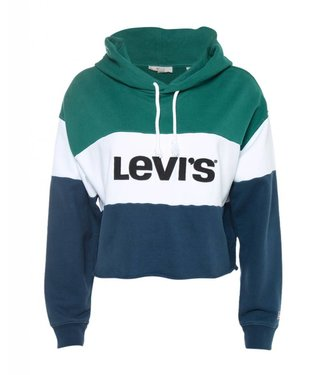 Levi's Raw cut cb crop hoodie multicolour 59322-0001