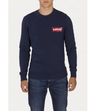 Levi's Modern crewneck sweatshirt blauw 56606-0001