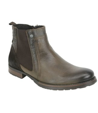 No Excess Shoes, real leather, chelsea boot  87SHOE04-042