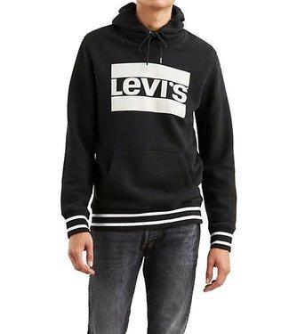 Levi's Graphic Hoodie zwart 19491-0034