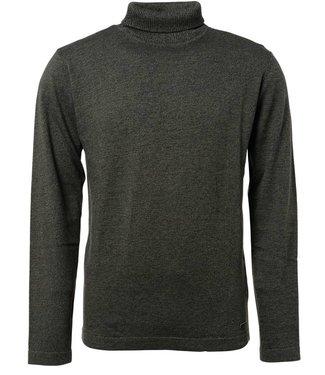 No Excess Pullover roll neck dark grey 87230813