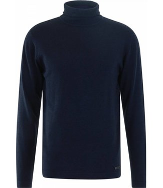 No Excess Pullover roll neck, navy 87230813