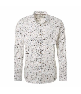 No Excess Shirt all-over printed multi white 87450901
