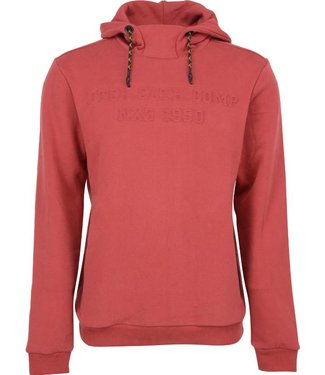 No Excess Sweater, Hooded, peached sweat, Stone Red 87100902