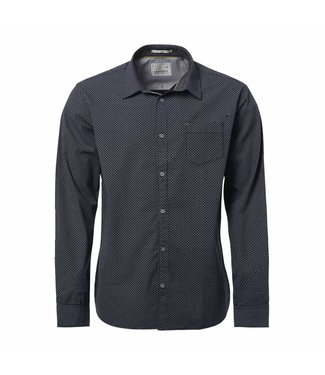 No Excess Shirt, all-over printed, navy 87430803