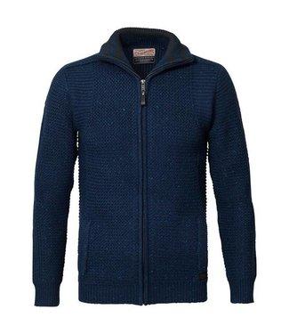 Petrol Industries Knitwear collar blauw M-FW18-KWC209