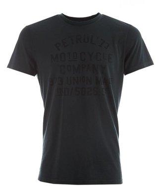 Petrol Industries T-shirt r-neck donkergroen M-FW18-tsr657