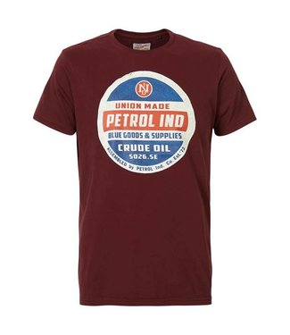 Petrol Industries T-shirt r-neck rood M-FW18-TSR607