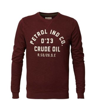 Petrol Industries Sweater r-neck rood M-FW18-SWR363