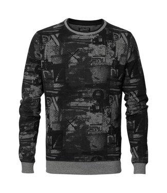 Petrol Industries Sweater r-neck grijs M-FW18-SWR345