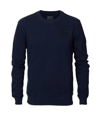 Petrol Industries Sweater r-neck donkerblauw M-FW18-SWR328