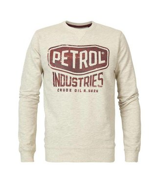 Petrol Industries Sweater r-neck off white M-FW18-SWR307