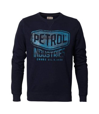 Petrol Industries Sweater r-neck donkerblauw M-FW18-SWR307