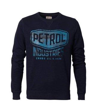 Petrol Industries Sweater r-neck donkerblauw M-FW18-SWR307