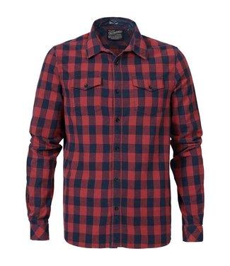 Petrol Industries Shirt ls rood M-FW18-SIL418