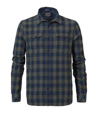 Petrol Industries Shirt ls donkerblauw M-FW18-SIL418