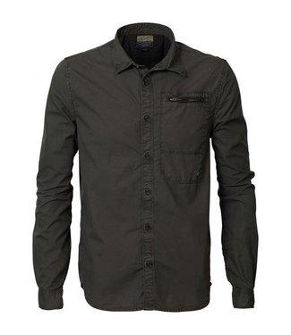 Petrol Industries Shirt groen M-FW18-SIL400