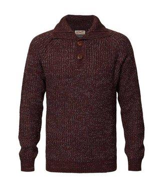 Petrol Industries Knitwear collar rood M-FW18-KWC251