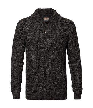 Petrol Industries Knitwear collar grijs M-FW18-KWC251