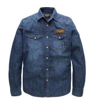 PME Legend Long Sleeve Shirt Denim Cody Indigo PSI185224