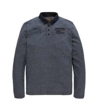 PME Legend Long sleeve polo Yarn Dyed Fine Str: Salute PPS185850