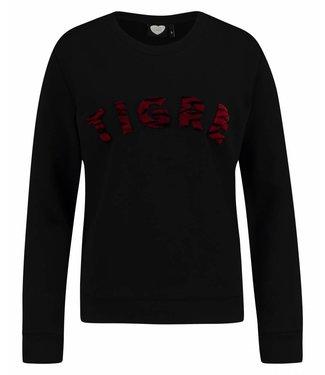 Sweater tigre zwart 1802041008